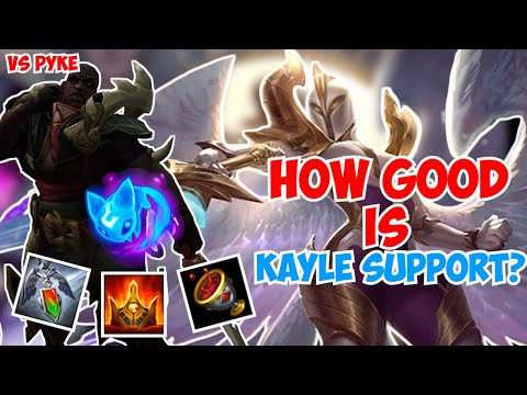 KAYLE SUPPORT! IS IT ANY GOOD? | Kayle 1v9