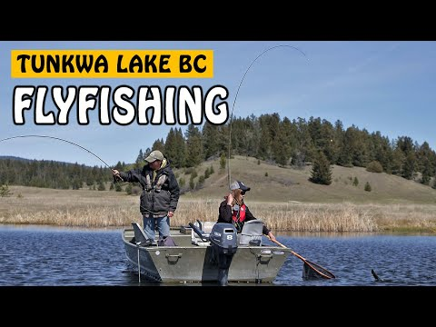 FINDING CHIRONOMID FEEDERS - RAINBOW TROUT FLY FISHING AT TUNKWA LAKE BC | Fishing With Rod
