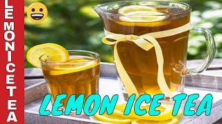 How to make Lemon Iced Tea