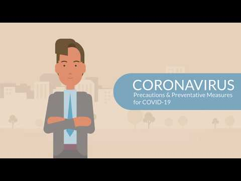 CORONAVIRUS: Precautions & Preventative Measures for COVID-19