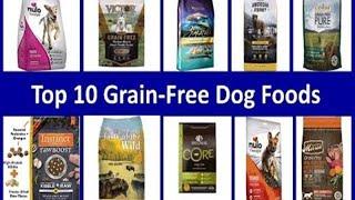 Top 10 Grain-Free Dog Foods