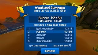 Beach Buggy Racing 2 | Race For The Fastest Time | Weekend Rampage