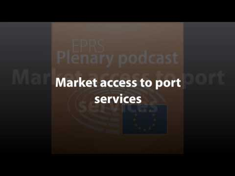 Market access to port services [Plenary Podcast]
