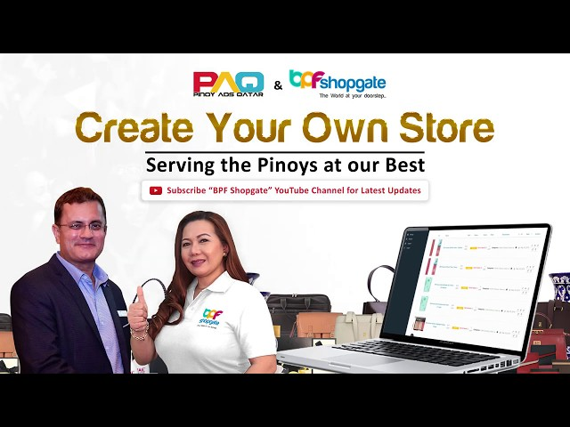 Create your Online Store with BPF Shopgate