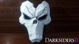 как сделать маску Смерти из игры Darksider II. Папье-маше. Часть 1