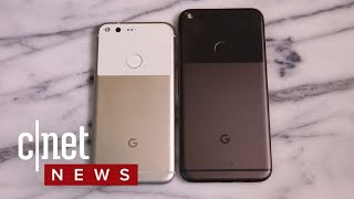 Expect new Google Pixel phones on Oct. 4 (CNET News)