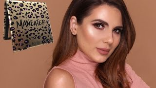 Sophisticated Spring Makeup   Review Tarte MANEATER Palette   Ali Andreea