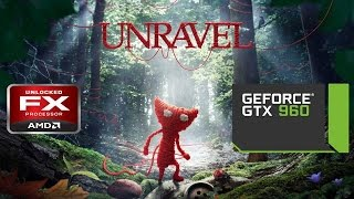 Unravel  | Gameplay PC | Ultra settings | FX 8350 | GTX 960 G1 4GB | 60FPS