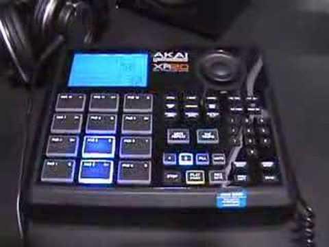 NAMM 2008 Akai XR-20 Beat Machine