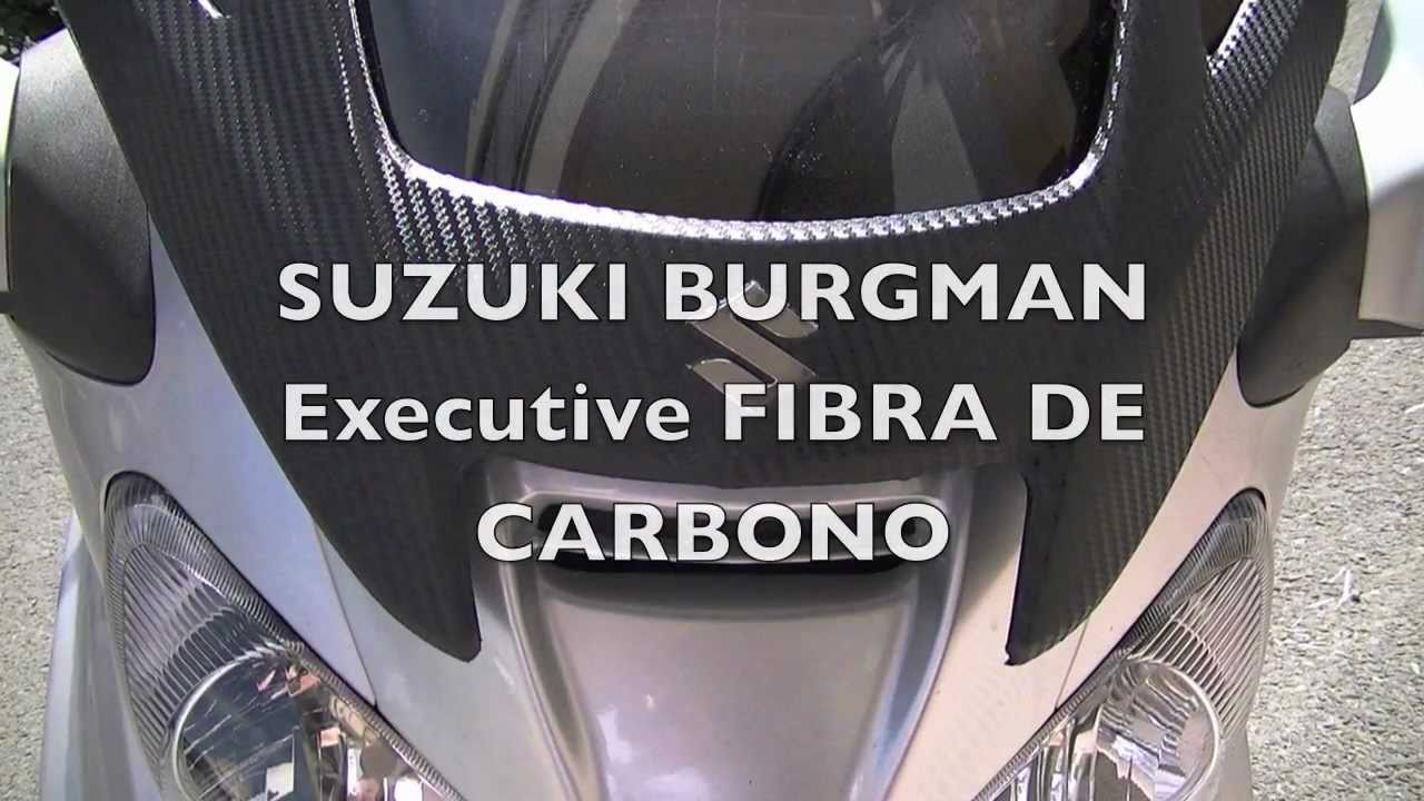 Suzuki Burgman Vinilo Carbono Youtube