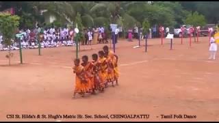 Tamil Christian Folk Dance Manavalan Varaporaru by CSI St. Hilda