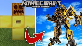 How to Spawn Bumblebee | Cara Spawn Bumblebee- Minecraft PE