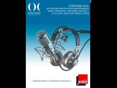 Démocratie, politique et réseaux sociaux : Stéphane Ozil interviewé sur France Inter