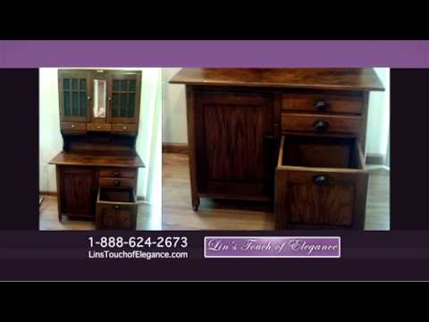 Stripping Refinishing Antique Furniture Testimonial - YouTube