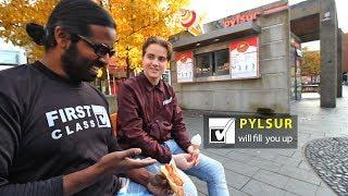 How to eat the Pylsur (Icelandic Hotdog) Wilbur In Reykjavik