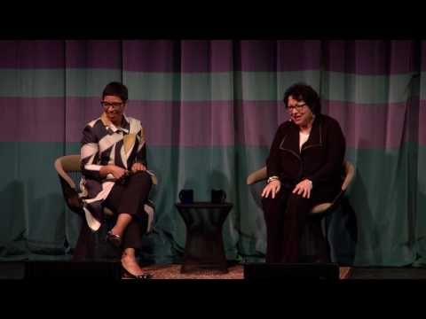 U.S. Supreme Court Associate Justice Sonia Sotomayor at UC Berkeley