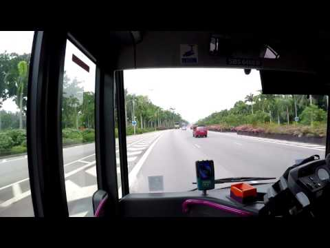 [Go-Ahead] Service 36: Changi Airport T2 → Raffles Blvd (Pan