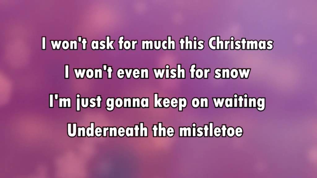 Mariah Carey - All I Want For Christmas Is You - Lyrics ...