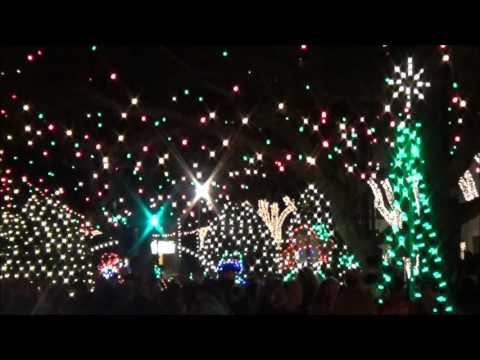 Forest City, NC, Christmas Lighting