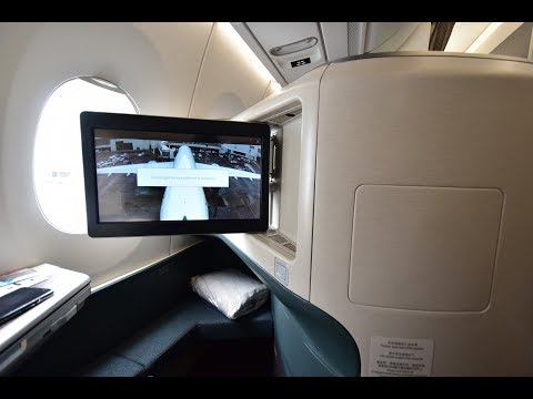 Business Class | Cathay Pacific CX338 Brussels to Hong Kong Airbus A350-900 (Review #40)