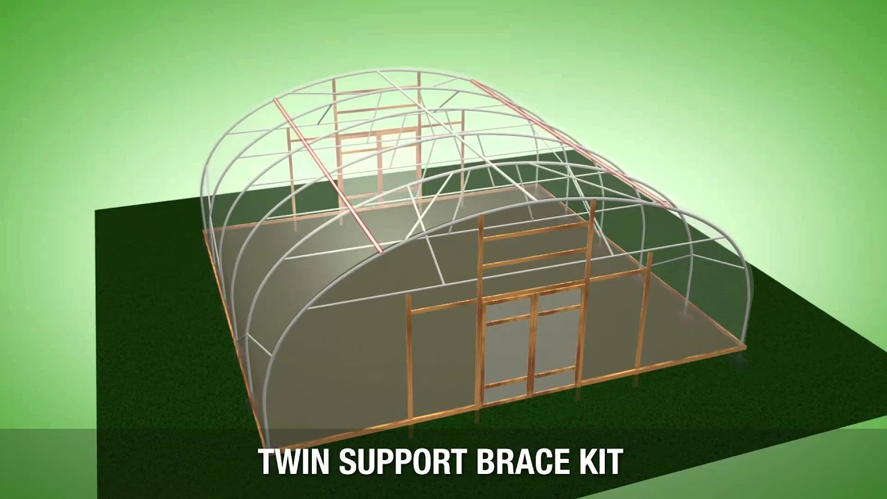 30ft (9 14m) Wide Polytunnel Specification - VT30