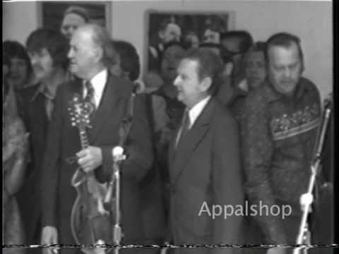 Bill Monroe and Ralph Stanley
