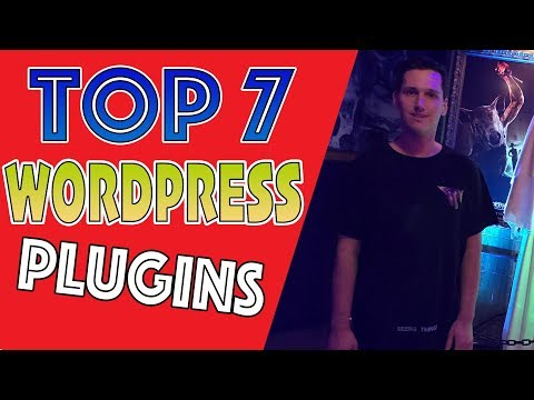 Top 7 MUST-HAVE WordPress Plugins [YOUR BLOG SUCKS WITHOUT THESE]