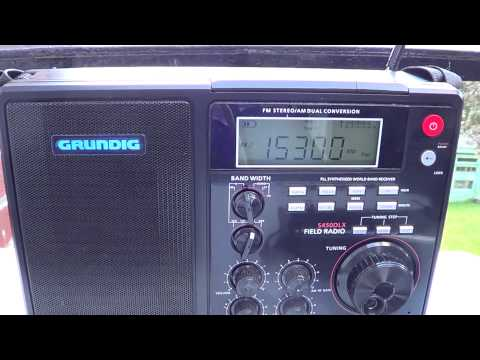 Summer Time Listening Radio France French Grundig S450DLX