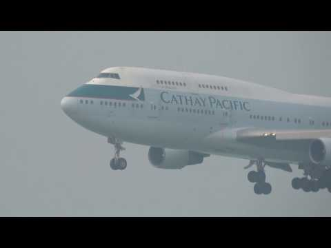 Hong Kong Chek Lap Kok Airport HKG / VHHH plane spotting #4 HD