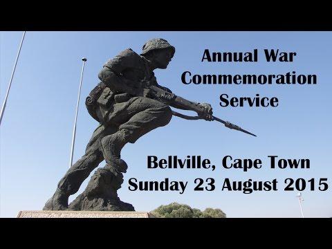 South African War Commemoration Service, Bellville