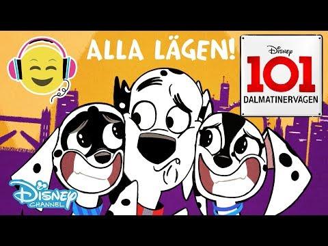 Dalmatinervägen 101  Musik: Vilket Hundliv + TEXT 🎶- Disney Channel Sverige
