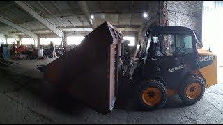 Самодельный ковш на JCB 540-140