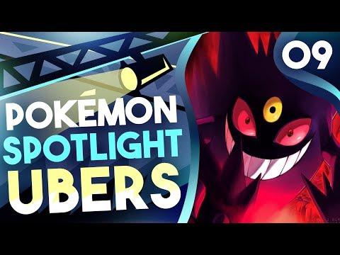 """POKEMON SPOTLIGHT: MEGA GENGAR"" #9 Pokemon Ultra Sun & Moon! Ubers Showdown Live w/PokeaimMD"