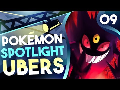 """POKEMON SPOTLIGHT: MEGA GENGAR"" #9 Pokemon Ultra Sun & Moon! Ubers Showdown Live w/PokeaimMD"