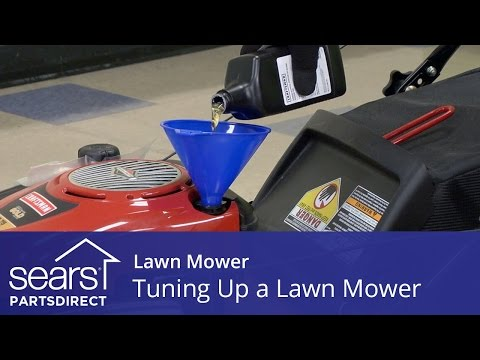 How to Tune Up a Lawn Mower