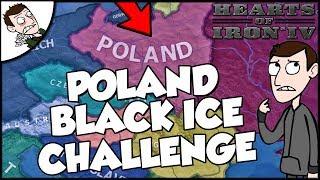 Hearts of Iron 4 HOI4 Poland Black Ice Survival Challenge