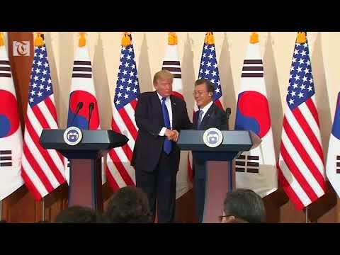 South Korea says Trump deserves