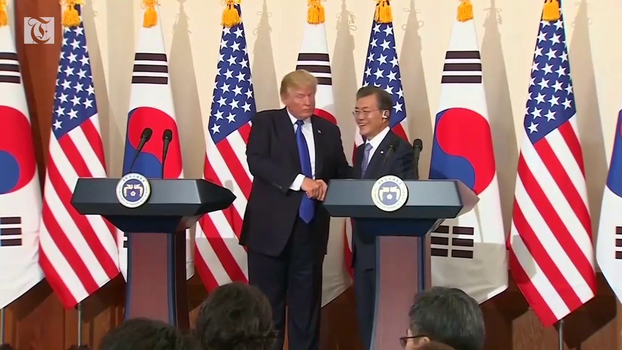 South Korea says Trump deserves 'big' credit for North Korea talks