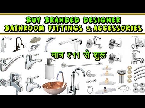 Buy Bathroom Fittings & Accessories At Cheapest Price | Hardware Manufacturer | Chawri Bazar | Delhi