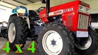 Swaraj 855 4x4 - 4WD - आ गया नया स्वराज ८५५ ४ x ४