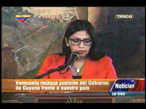"""Delcy Rodríguez le respondió a Guyana tras comunicado """"errático"""" sobre el Esequibo"""