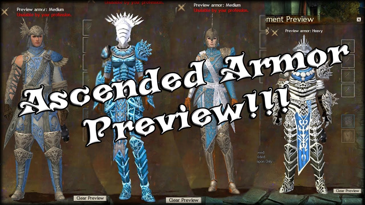 Guild Wars 2 - Ascended Armor Preview! - YouTube