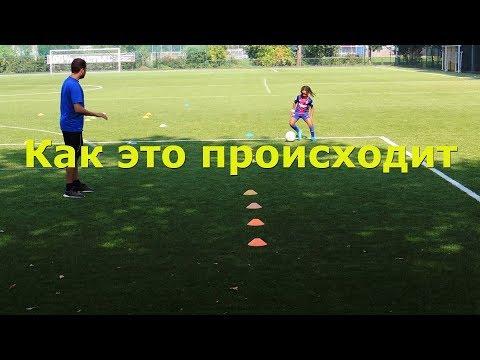 Отбор футболистов