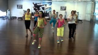 Zumba Fitness, Vida (Ricky Martin) @Elite club Epicentrum Kuningan Jakarta-Indonesia