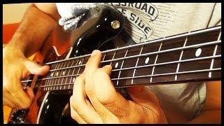 Crazy Fast Slap Bass solo