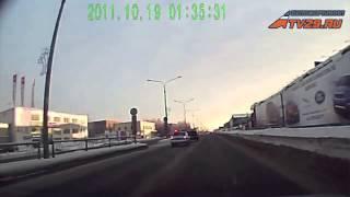 Северодвинск: погоня за пьяным водителем(, 2013-02-18T12:42:30.000Z)