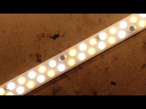Colour temperature selectable LED strip.