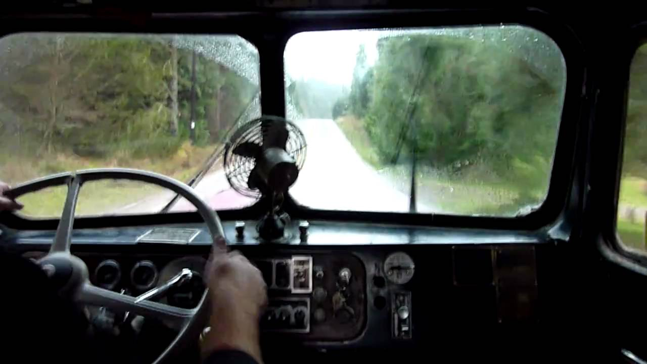 1959 Kenworth 2 stick shifting practice  Part 1  YouTube