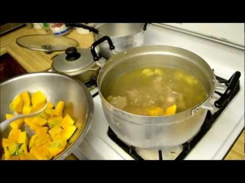 Somlor K&39;tuy Ko - Oxtail soup with Kabocha pumpkin