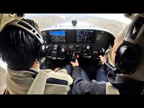 Flight around Manhattan in a C172 - must see!